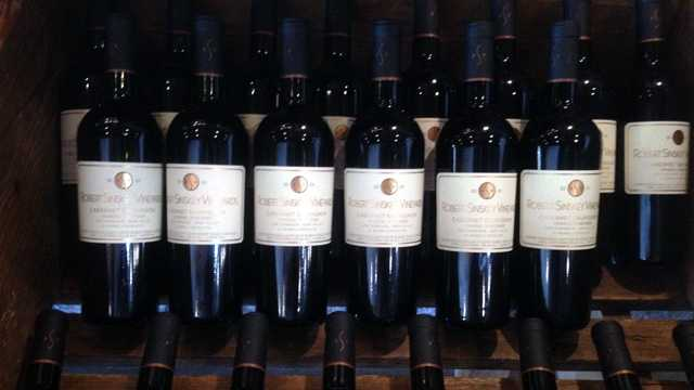 Generic bottles of wine