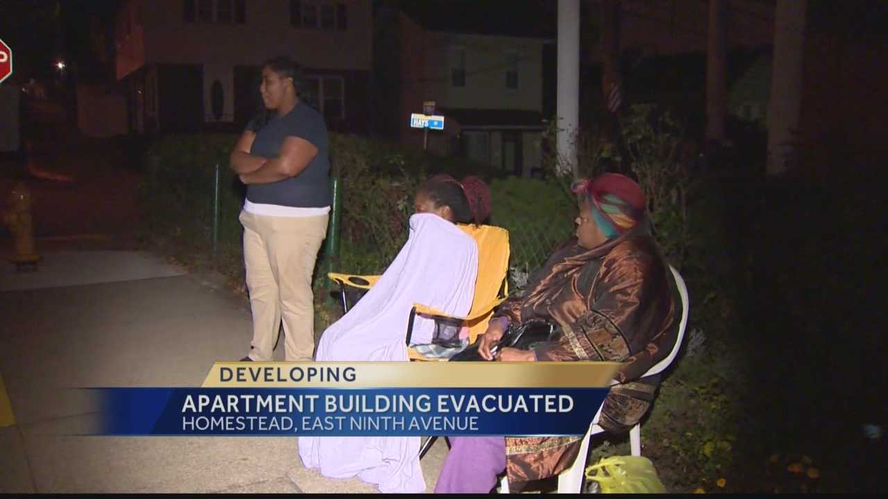 Homestead apartment evacuation