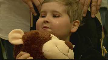 For 8-year-old Matthew Jacko, it's a dream come true -- and then some. Matthew has an inoperable brain tumor and is home on hospice care. He smiles, he tells knock-knock jokes and pulls pranks on family members and even complete strangers.