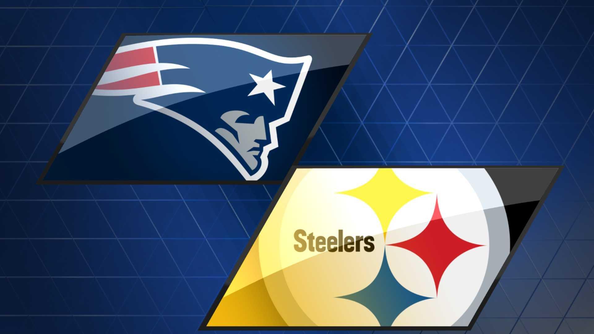 Patriots at Steelers