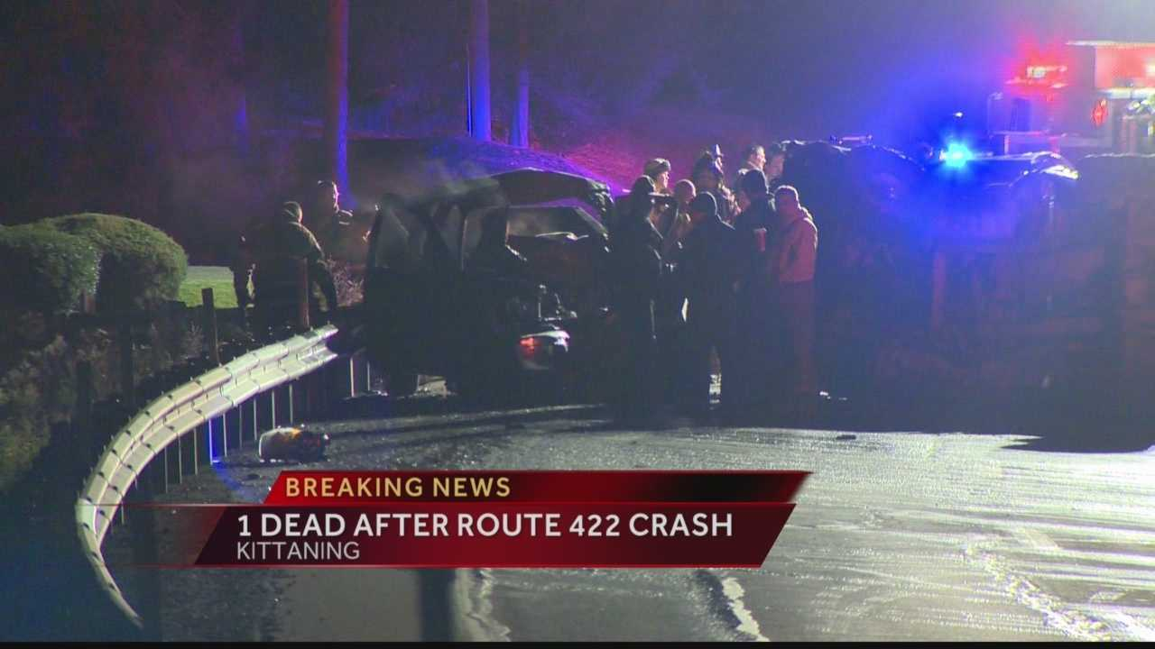 State police say Terry McClafferty, 37, was killed in a head-on crash on Route 422.