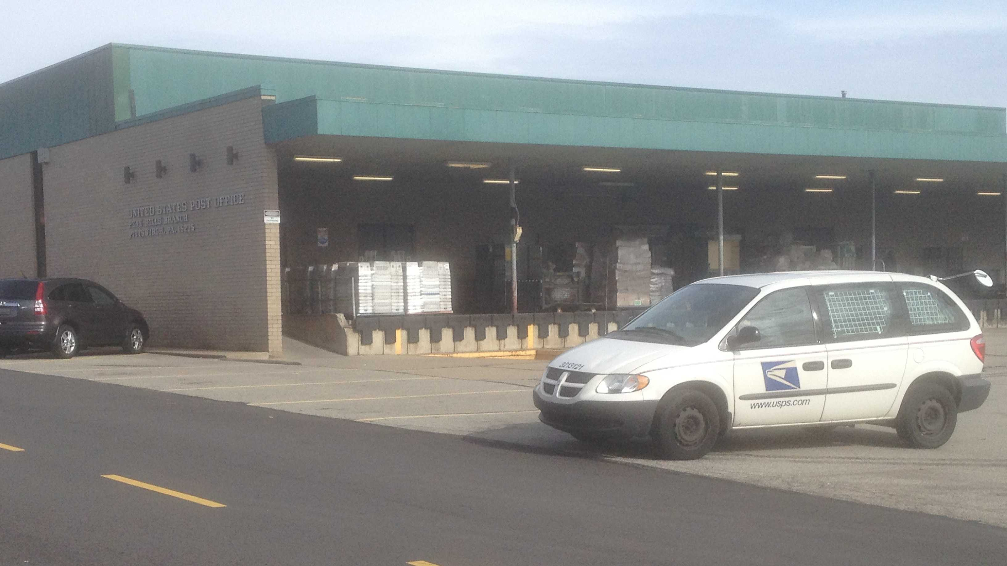 The post office at the Penn Hills Shopping Center.
