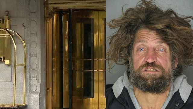 Police said Jeffery Lennon Watson was found in a suite at the Omni William Penn Hotel.