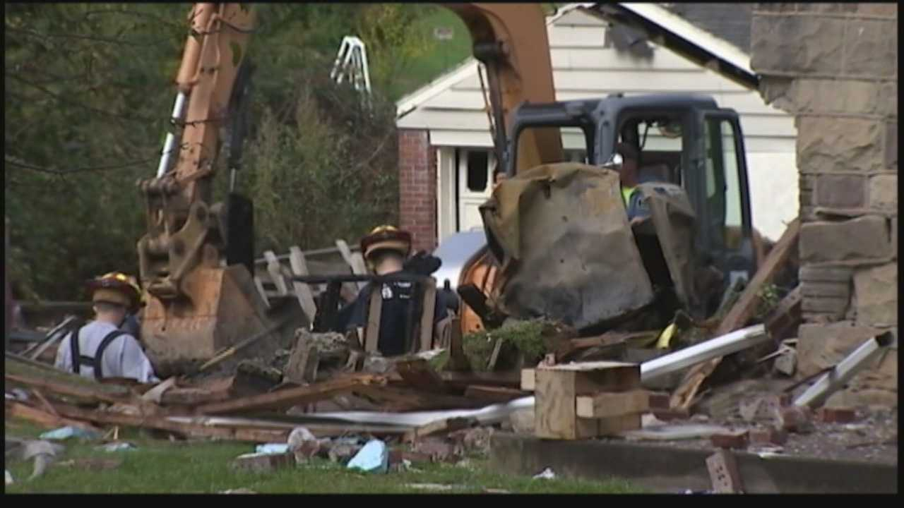 Moon Township house explosion