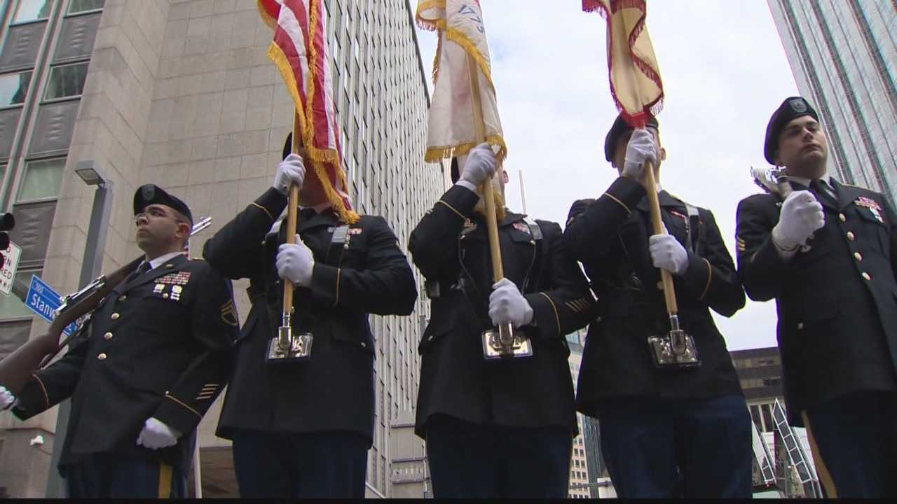 Action News' Bob Mayo takes a look at the memorial services and events across Pittsburgh honoring those who fought for the nation in uniform.