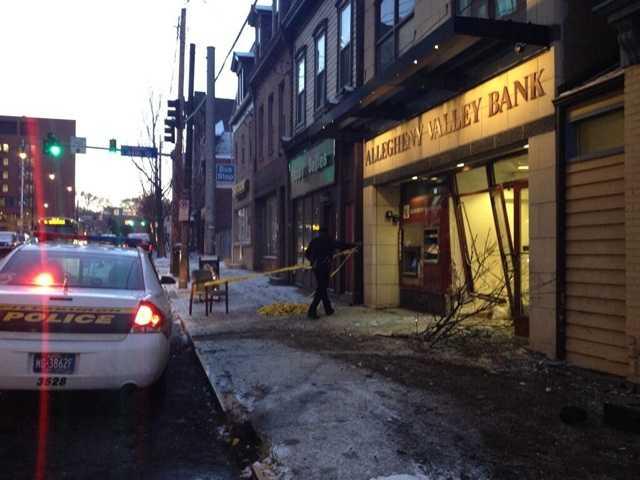 Allegheny Valley Bank on Penn Avenue in Bloomfield