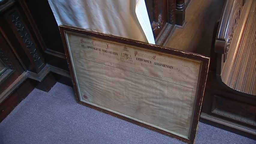 Every one of the more than 5,000 Christian relics at Saint Anthony's Chapel has an authentic document to go along with it.