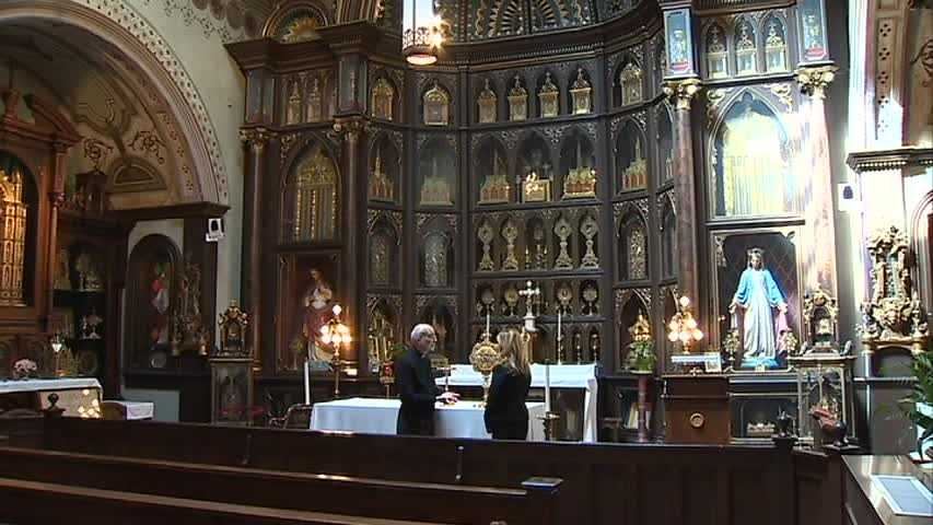 Europe was in turmoil in the late 1800s, and people tried to steal and destroy relics that had been saved by Saint Helena in Jerusalem. A Belgian priest gathered up thousands of them, put them in crates and brought them to Pittsburgh for safe keeping. He built Saint Anthony's Chapel.
