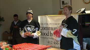 The event was held in partnership with the Greater Pittsburgh Community Food Bank.