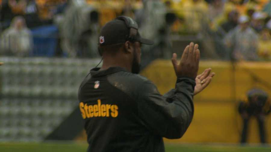 Mike Tomlin likes what he sees from his team