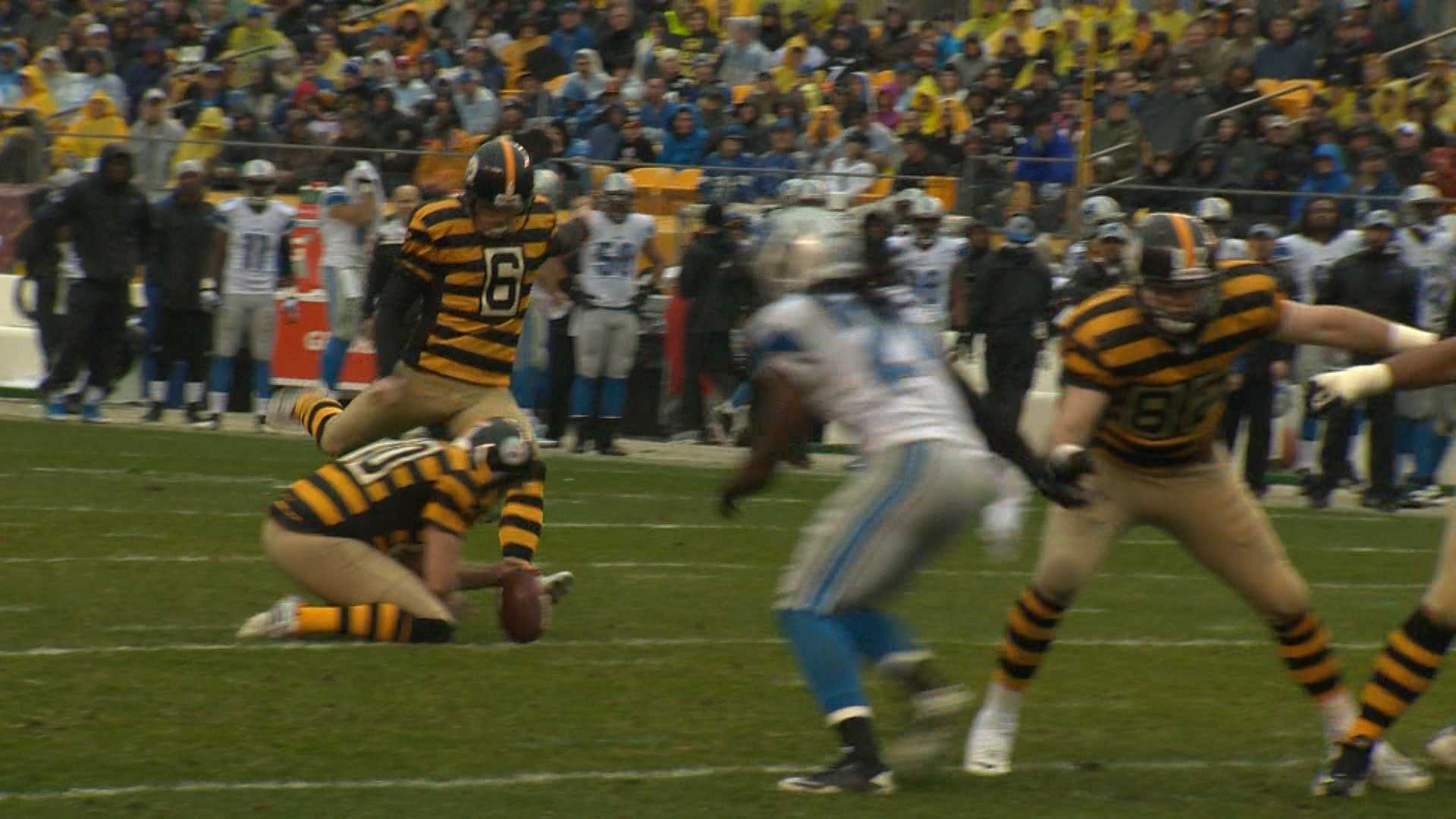 Shaun Suisham boots one through the uprights