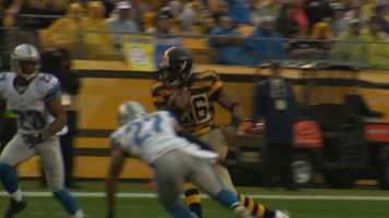Le'Veon Bell braces for impact