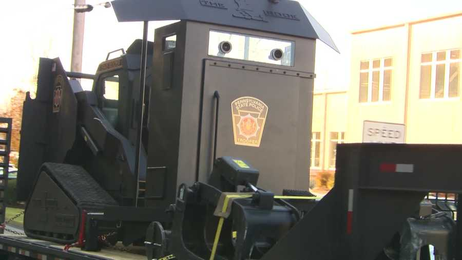 The state police called SERT to the standoff scene in New Brighton.