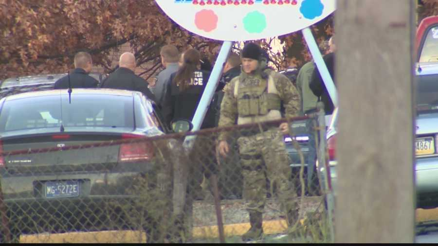 On Monday morning, police surrounded a home on Third Street in New Brighton because they believed Mariah Anderson's killer was inside.