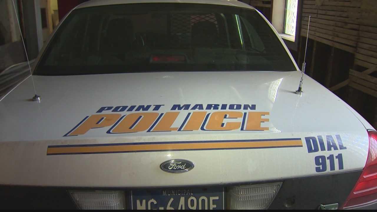 Point Marion police car