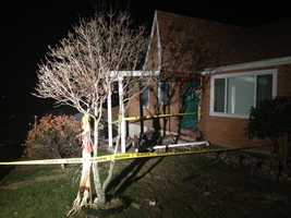 The driver of an SUV went off the road and crashed into a home in North Union Township early Thursday morning.