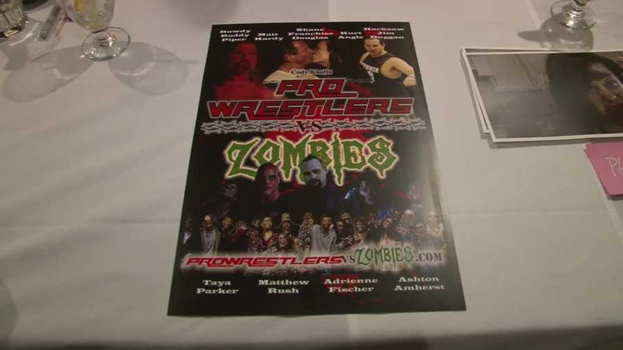The movie was filmed in the Pittsburgh area and stars several local wrestlers and legends.