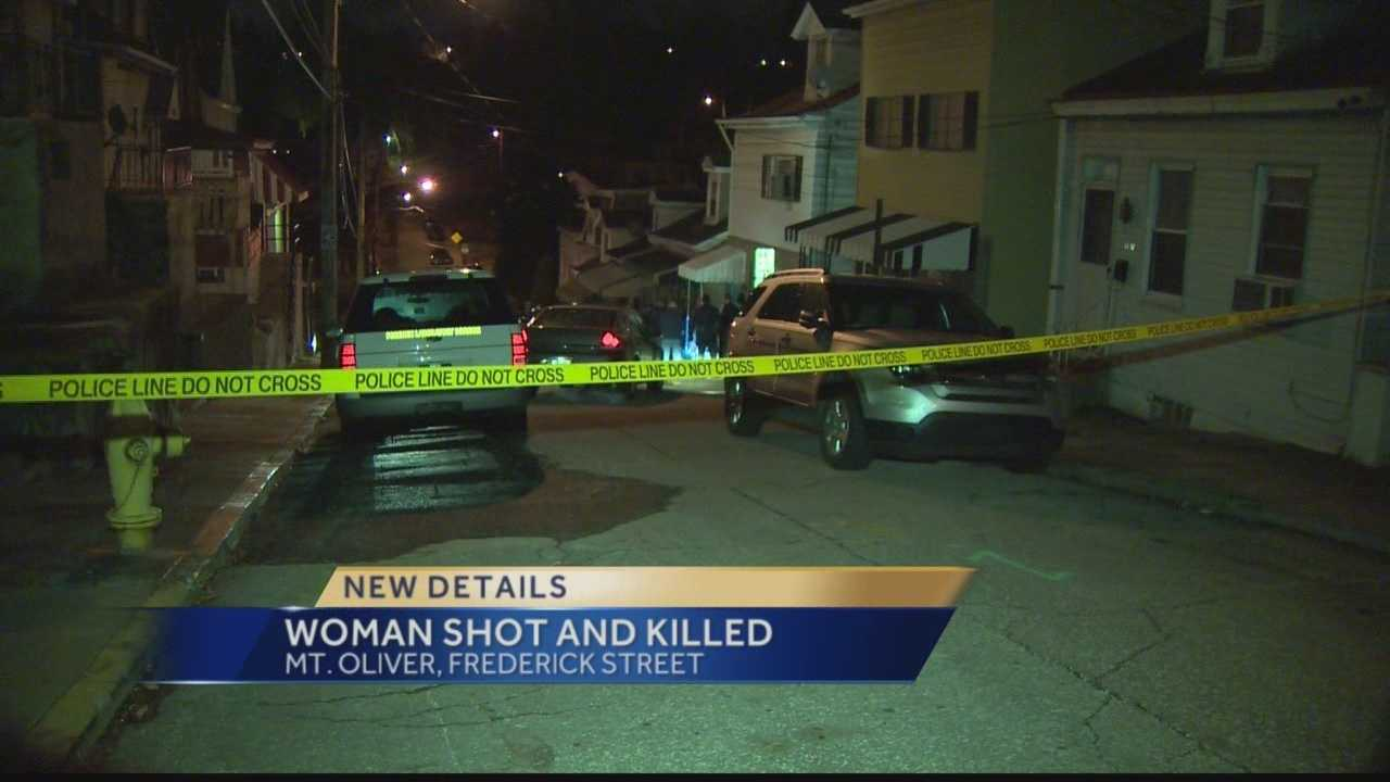 Jamekia Robinson was shot near her home on Frederick Street.