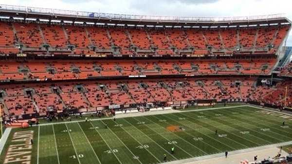 FirstEnergy Stadium, home of the Cleveland Browns.
