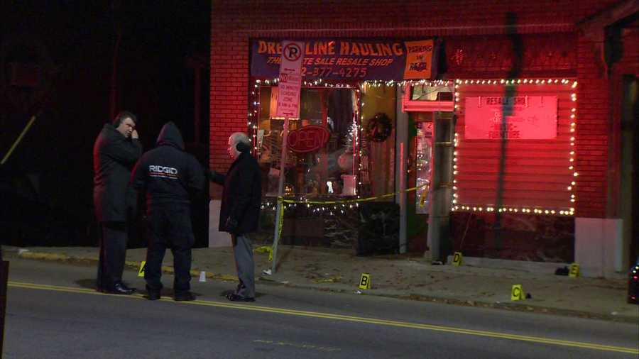 Pittsburgh police said they found the victim, Michael Paul Palombia, lying on the sidewalk in the 2500 block of Brownsville Road.