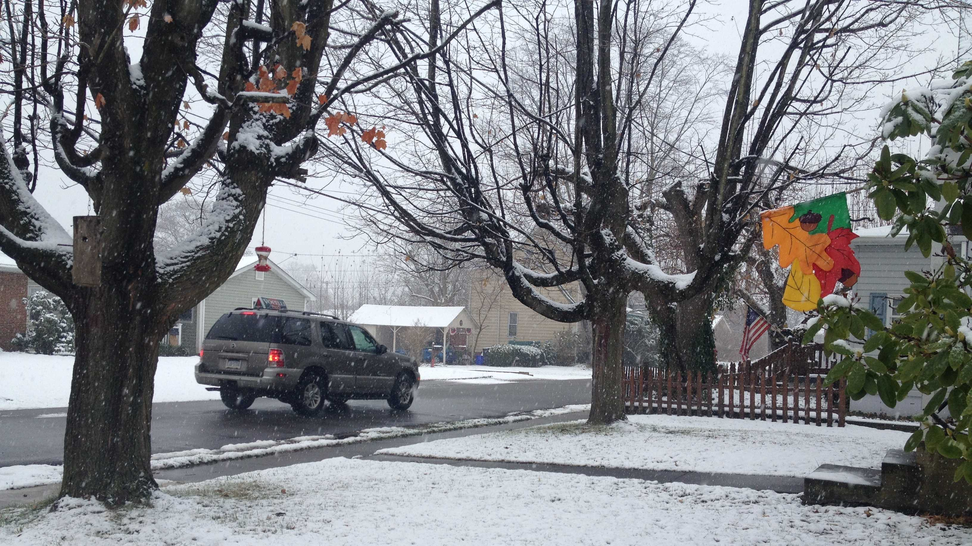 Zelienople snow