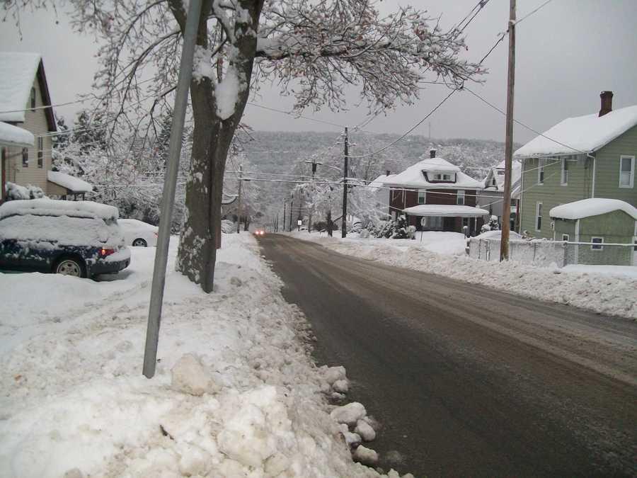 Snow in Oil City