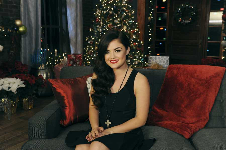 """LUCY HALE -- Some of the most powerful and emotionally moving voices in music come together to celebrate the holidays on """"CMA Country Christmas,"""" which taped in front of a live audience Friday, November 8 at the Bridgestone Arena in Nashville, Tenn. The special, which features Jennifer Nettles as host for the fourth year, airs MONDAY, DECEMBER 2 (9:00-11:00, ET/PT), on the ABC Television Network. (ABC/Todd Wawrychuk)"""