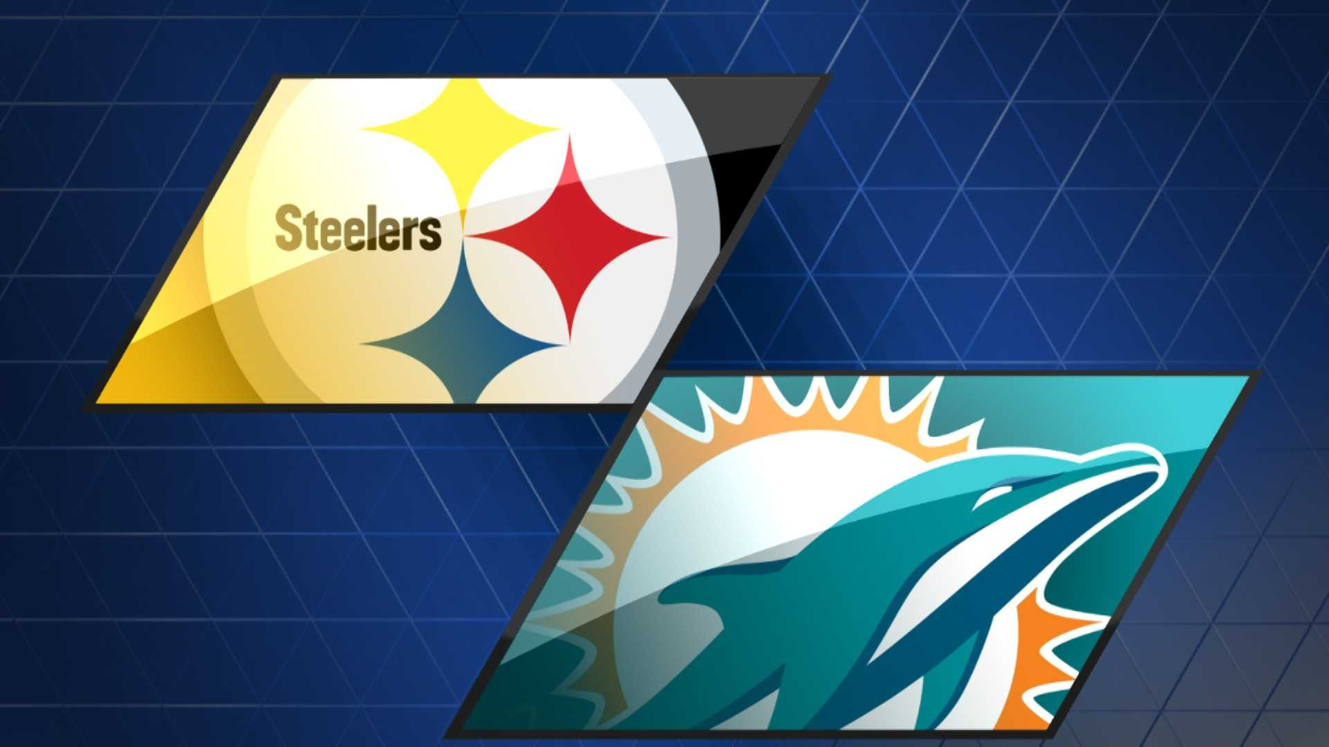 Steelers at Dolphins