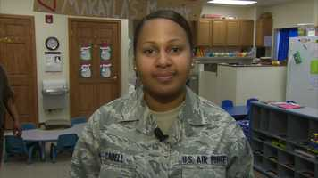 Air Force Airman 1st Class Alexis Cabell