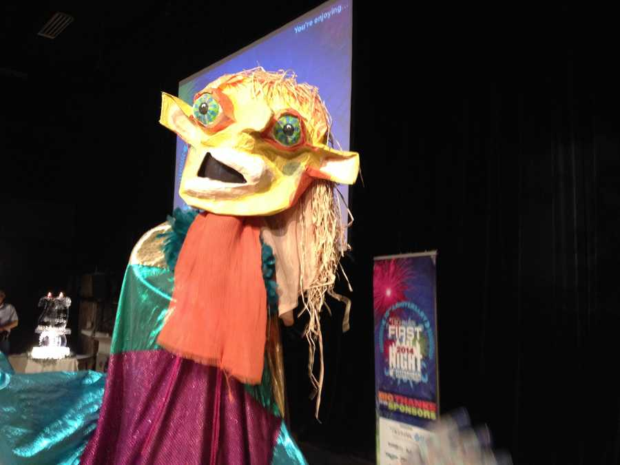 A puppet show will be one of the highlights at First Night Pittsburgh 2014.