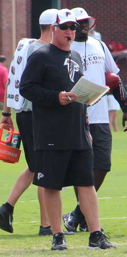 $15,000 - Atlanta Falcons head coach Mike Smith on Nov. 12, 2009, for being involved in an altercation involving players.