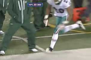 $25,000 - New York Jets assistant coach Sal Alosi on Dec. 13, 2010, for tripping Miami Dolphins cornerback Nolan Carroll on the sideline.