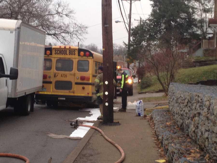 The crash happened on Middletown Road near Steuben Street.