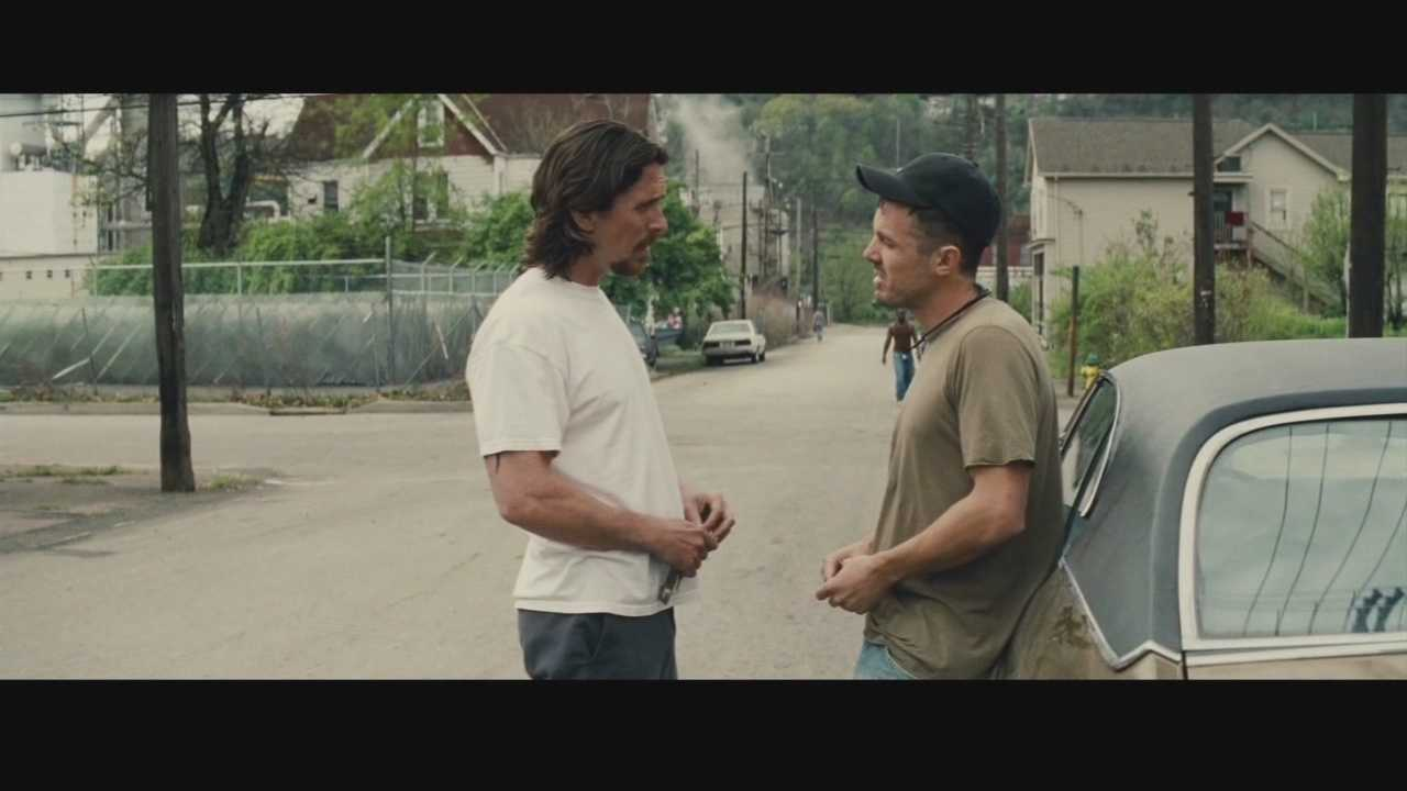 Christian Bale heads a top-flight cast in this drama that was filmed in Braddock.