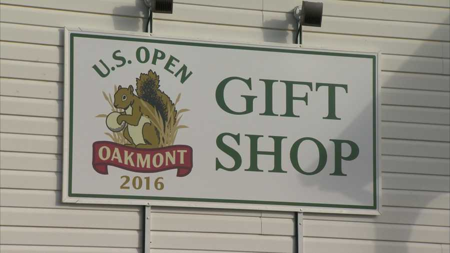Let's take a look inside and see the 2016 U.S. Open merchandise that is on sale at Oakmont Country Club.