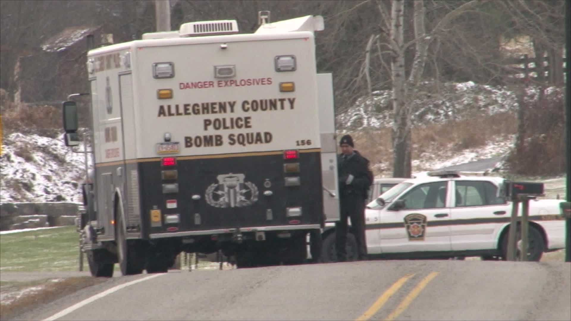 Local police and the FBI are investigating a suspected pipe bomb that was found under a woman's car on West Crawford Avenue in Dunbar Township.