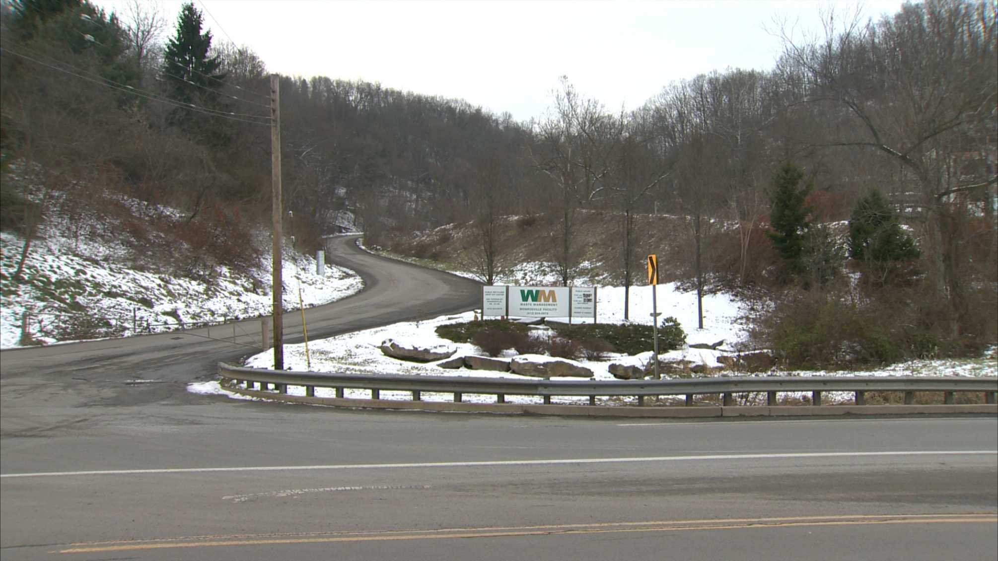 A landfill on Thomas Street in Monroeville.