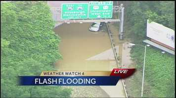 #7 Roads Closed Due to Flooding - Flash Flooding Road Closures Across Allegheny, Westmoreland, & Washington Counties. VIEW STORY