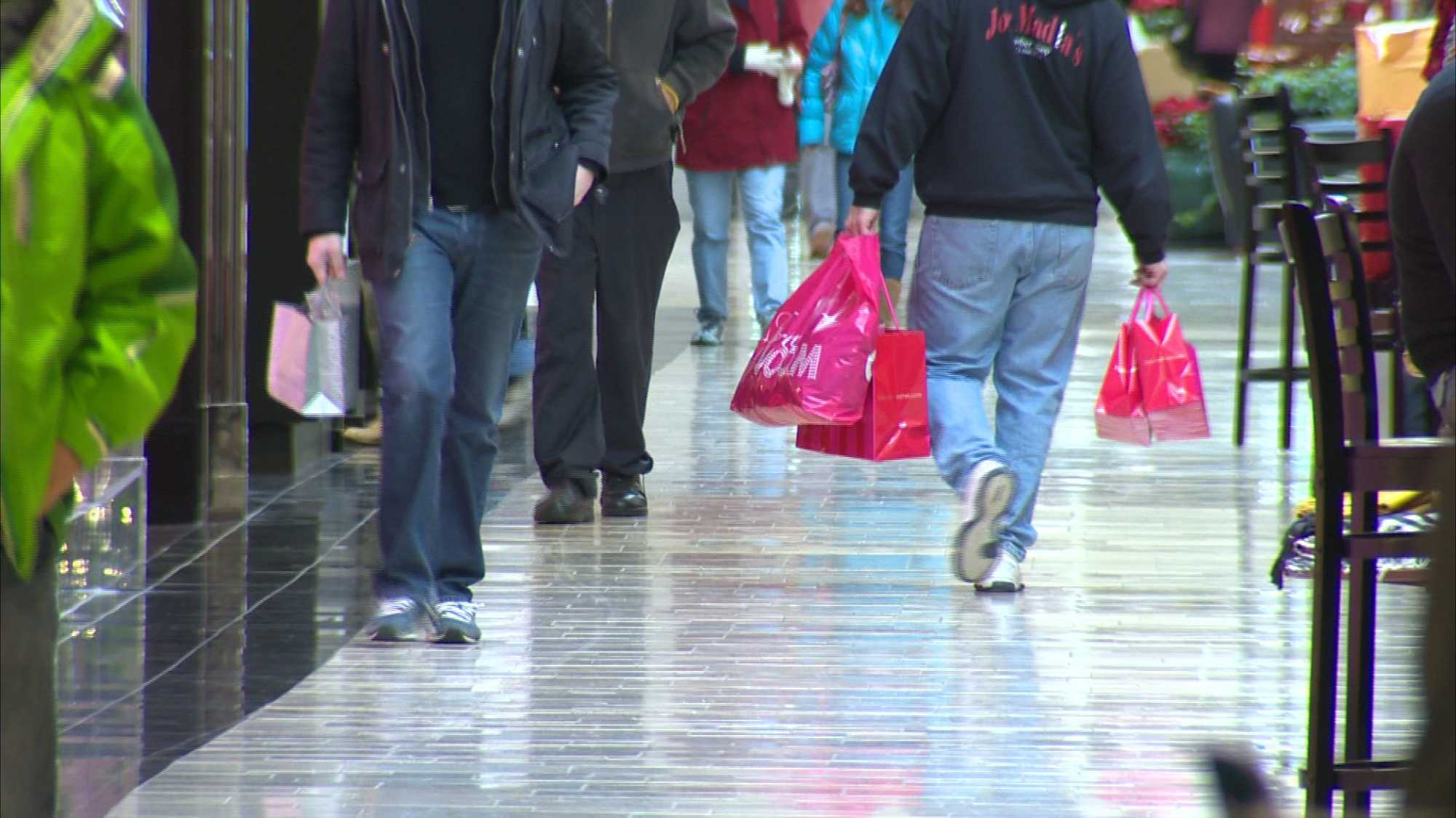 Christmas shopping at Ross Park Mall