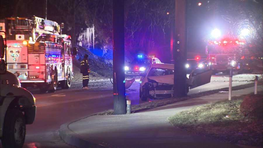 A 39-year-old man died Christmas morning after being involved in a crash in McKeesport.