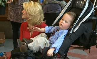 #10 Kelly Frey, Bennett help raise CE awarenessConductive Education Awareness Day in Pittsburgh is Thursday, Feb. 21. WTAE's Kelly Frey and her young son, Bennett, were invited to City Council chambers for the announcement. CE is a therapy for children with motor disabilities. CLICK HERE TO WATCH THE VIDEO
