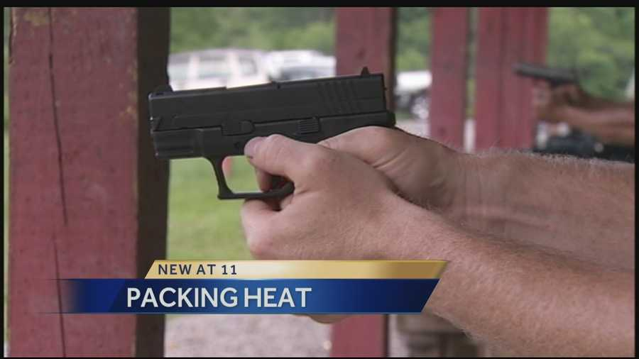 #5 Packing Heat: PA's Open Carry Gun LawTwo men enter a crowded family restaurant, firearms in full view. What would you do? Action News' Wendy Bell puts Pittsburgh to thetest. The act that's perfectly legal, but how do people react? CLICK HERE TO WATCH THE VIDEO