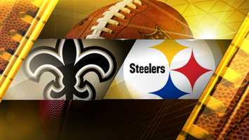 Week 13: New Orleans Saints at SteelersFINAL SCORE: New Orleans 35, Pittsburgh 32