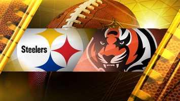 Week 14: Steelers at Cincinnati BengalsFINAL SCORE: Pittsburgh 42, Cincinnati 21