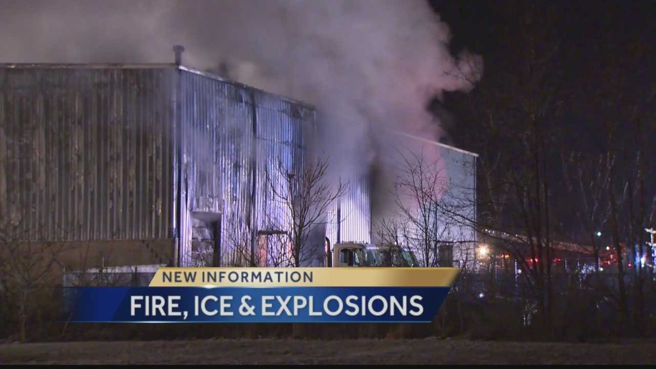 Action News' Amber Nicotra has the latest on the New Years Day morning blaze.