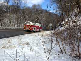 Emergency crews from New Kensington (Westmoreland County) were on-scene of a fatal accident involving a school bus and another vehicle&#x3B; a Pontiac on Route 366 just north of Marloboro Drive..