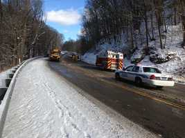 The fatal accident happened on Route 366, just north of Marlboro Drive.