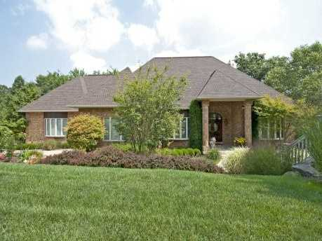 From the brick exterior to the high ceilings and spacious rooms, this Monroeville home has it all. The house includes four bedrooms, six bathrooms, is located on 2.5 acres and is featured on realtor.com.