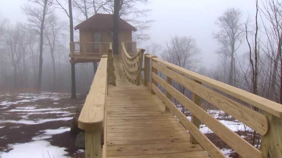 Sure, every kid dreams of having a treehouse, but what about the adults? At the 107-year-old Summit Inn Resort in Farmington, Fayette County, that dream has become a reality.