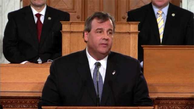 Chris Christie state of the union
